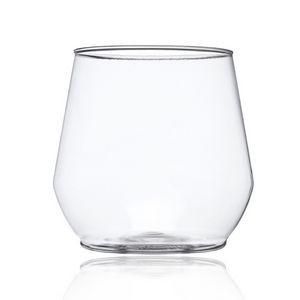 14 oz. Reserv Stemless Plastic Wine Glasses